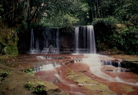 Waterfall in Lambir Hills National Park, Sarawak